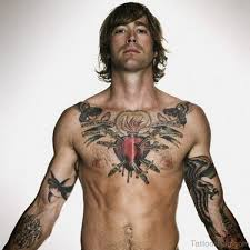 75 appealing chest tattoos for