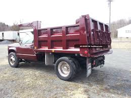 2000 chevrolet 3500 dually 1 ton pto deisel dump truck manual