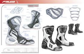 motorcycle racing boots falco by craig hall at coroflot com