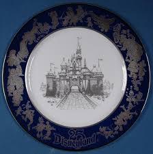 25th anniversary plate auction howardlowery disneyland 25th anniversary numbered