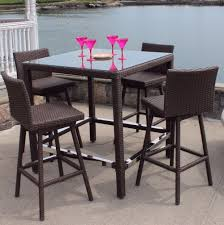 Patio Tall Table And Chairs 100 Tall Patio Table And Chairs Furniture Outdoor Bar