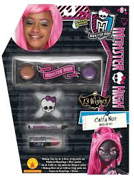 Halloween Costume Monster High by Amazon Com Rubies Monster High 13 Wishes Catty Noir Make Up Kit