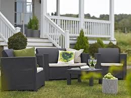 divanetti da esterno economici set salotto elisa da giardino resina polirattan keter colorado
