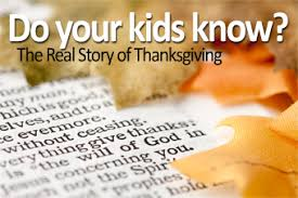 teach the real thanksgiving story raisingodlychildren