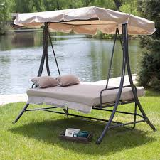 hammock swing bed double hanging patio 2 person chair convertible