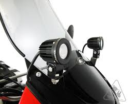 denali fairing mount auxiliary lighting brackets for kawasaki