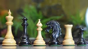 chessbazaar the ruffian american series staunton chess pieces in