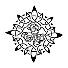 celtic sun tattoo design sample