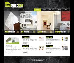 best home builder website design artist portfolio website themes