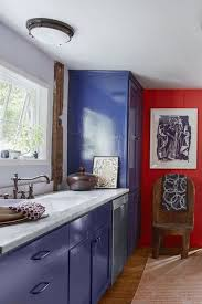 blue kitchen cabinets in cabin 40 blue kitchen ideas lovely ways to use blue cabinets and