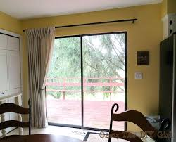 Shade Curtains Decorating Sliding Glass Door Decorating Ideas Shade Ideas For Sliding Glass