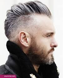 Gray Hair Mens Hairstyles by Grey Hair Color For Men Fashionable Gray Hair Color With Black