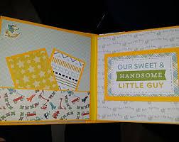 baby scrapbook album baby scrapbook etsy