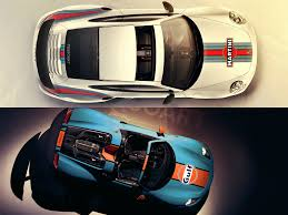 porsche martini porsche livery battle gulf 918 spyder or martini 911 turbo s
