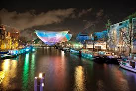 Frozen Christmas Light Show by Christmas In Amsterdam 2017