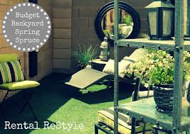 focal point styling rental restyle budget friendly backyard