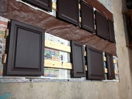 Refinishing Melamine Kitchen Cabinets by Decorating Using Alluring Rustoleum Cabinet Transformation