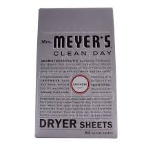 How To Clean A Clothes Dryer Amazon Com Mrs Meyer U0027s Clean Day Dryer Sheets Lavender 80