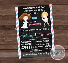 gender reveal invitation template gender reveal invitation star wars gender reveal party invitation