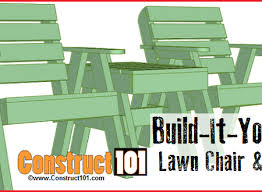 Deck Chair Plans Pdf by Find Your Next Diy Project At Construct101