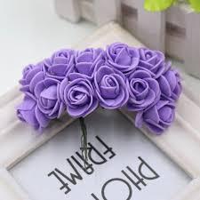 Decorative Flowers by 12pcs Lot New 2cm Head Multicolor Pe Foam Mini Flower