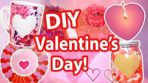 Valentine S Day Diy Decorations Youtube by 7 Diy Valentine U0027s Day Gifts U0026 Room Decor Ideas 2017 Youtube