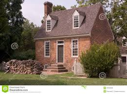 williamsburg colonial house royalty free stock image image 18084606