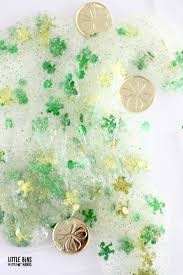 st patricks day leprechaun slime science activity and recipe for kids