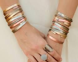 personalized bracelet gift customized cuffs