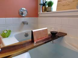 Wine Glass Holder For Bathtub 35 Inch Modern Walnut Hardwood Bathtub Tray And Caddy With Copper