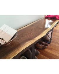 Slab Coffee Table Deals On Entryway Bench Live Edge Slab Coffee Table Console Table