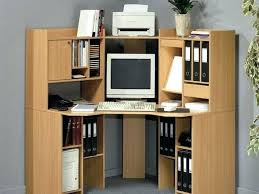 compact office cabinet and hutch desk for office design small office desk medium size of computer