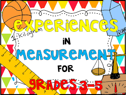 blog post with a few freebies for teaching measurement volume