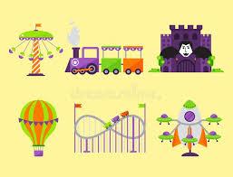 Kids Outdoor Entertainment - carousels amusement attraction park side show kids outdoor