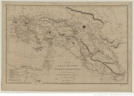 Asia Minor Map by Map Of Asia Minor Armenia And Koordistan Illustrative Of The