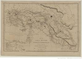 Asia Minor Map Map Of Asia Minor Armenia And Koordistan Illustrative Of The