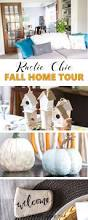 rustic chic fall home tour with video sustain my craft habit
