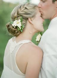 bridal flowers for hair wedding hair inspiration flowers in hair la wedding