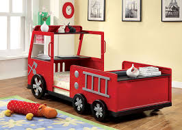amazon com furniture of america youth fire truck design metal bed amazon com furniture of america youth fire truck design metal bed twin red and black kitchen dining
