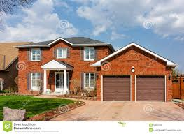 two storey house with columns stock photo image 53657036