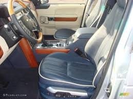 navy land rover navy blue parchment interior 2010 land rover range rover hse photo