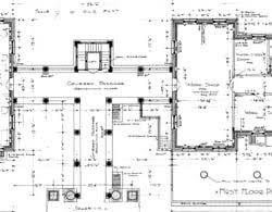 Industrial Floor Plans Trumbauer Collection Athenaeum Of Philadelphia Philadelphia