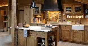 cuisine style chalet décoration cuisine style chalet montagne 17 villeurbanne