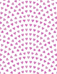 pink gift wrap free printable watercolor heart gift wrap tinselbox