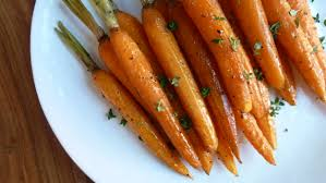 balsamic honey roasted carrots today