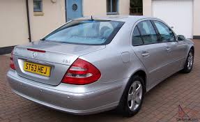 2003 mercedes e270 cdi avantgarde auto silver one owner from new