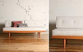 Mid Century Daybed Mid Century Sofa Furnishings Better Living Through