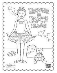 14 ballet activity sheets print students created