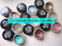5 looks with maybelline color tattoos a beautiful zen