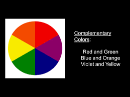 color and design complementary colors red and green blue and